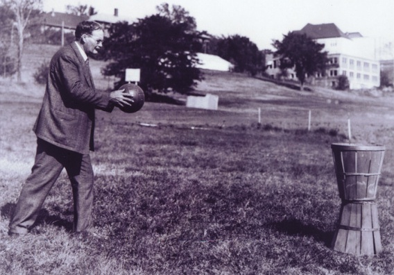 """""""Dr. Naismith shot the ball clumsily. After a promising beginning, the sport is now broken."""""""