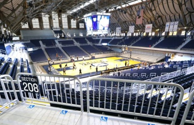 Newly renovated Hinkle looks spiffy.