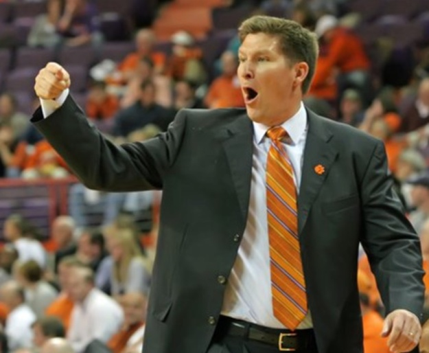 If defending shooters is your thing, this man deserves a cult all his own. (It's Brad Brownell.) (He's the coach at Clemson.) (It's a school in the ACC.)
