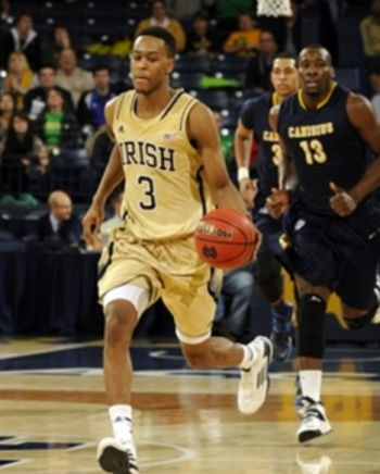 At 54 percent, V.J. Beachem is the worst 2-point shooter in Notre Dame's rotation.