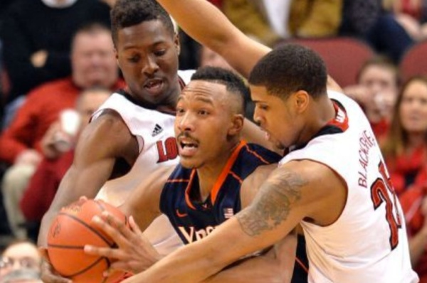 Without Justin Anderson, the Virginia offense has occasionally been stymied. (AP/Timothy D. Easley)